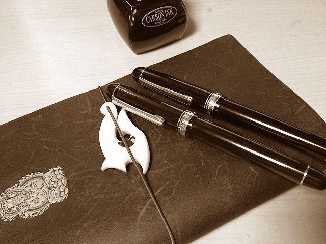 プラチナ万年筆 #3776 CENTURY ブラック