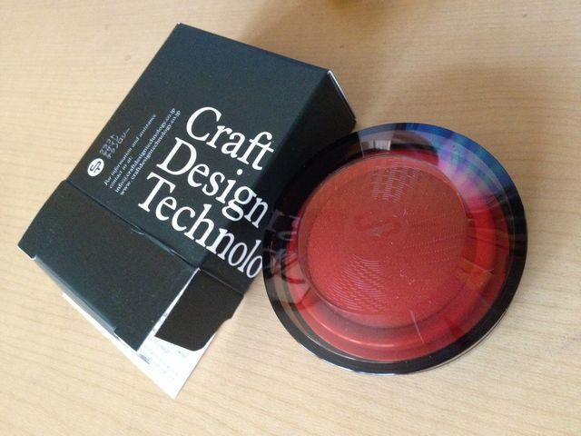 CDT(クラフトデザインテクノロジー) 朱肉
